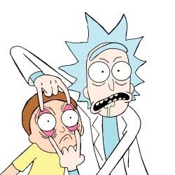 Rick et Morty - Personnage d'animation