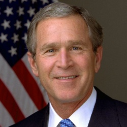 George W Bush - Politique
