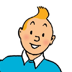 Tintin - Personnage d'animation
