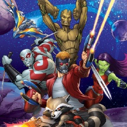 Les Gardiens de la Galaxie - Personnage d'animation