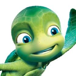 Samy la tortue - Personnage d'animation