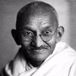 Mahatma Gandhi - Personnalité religieuse