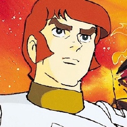 Capitaine Flam - Personnage d'animation