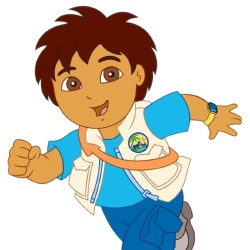 Diego - Personnage d'animation