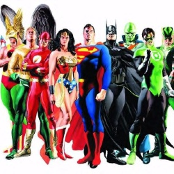 Justice League - Personnage d'animation