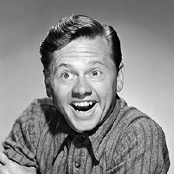 Mickey Rooney - Guest star