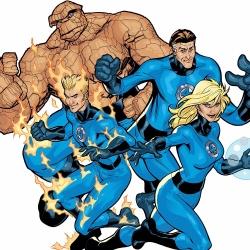 Les Quatre Fantastiques - Personnage d'animation