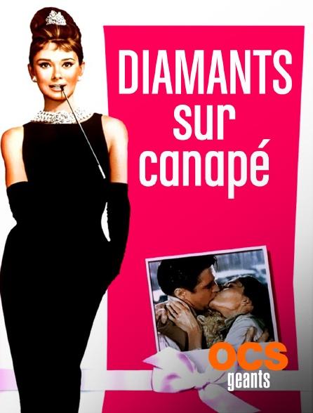 OCS Géants - Diamants sur canapé
