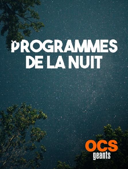 OCS Géants - Interruption des programmes
