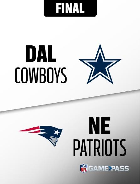 NFL 10 - Cowboys - Patriots en replay