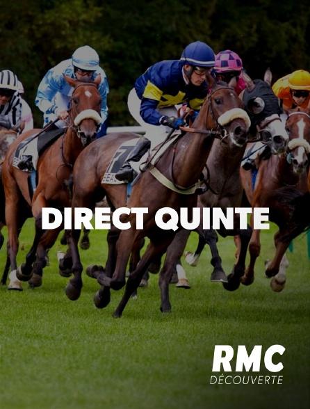 RMC Découverte - Direct Quinté