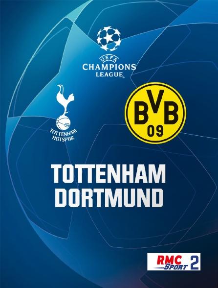 RMC Sport 2 - Football - Ligue des Champions : Tottenham (Gbr) / Borussia Dortmund (Deu)