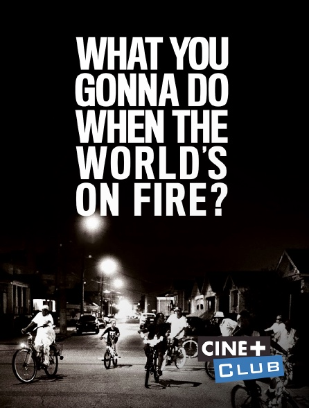 Ciné+ Club - What You Gonna Do When the World's on Fire ?