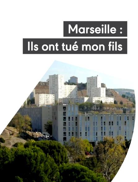 Marseille : ils ont tué mon fils