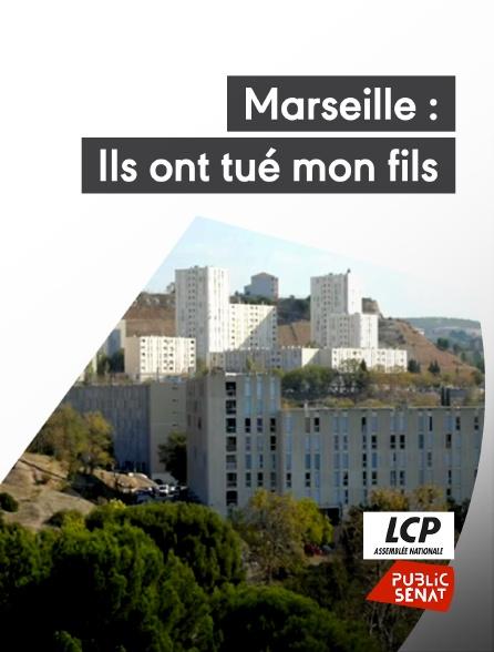 LCP Public Sénat - Marseille : ils ont tué mon fils