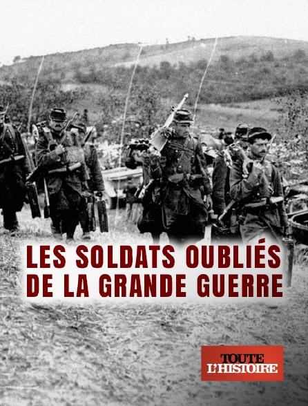 Toute l'histoire - Les soldats oubliés de la Grande Guerre