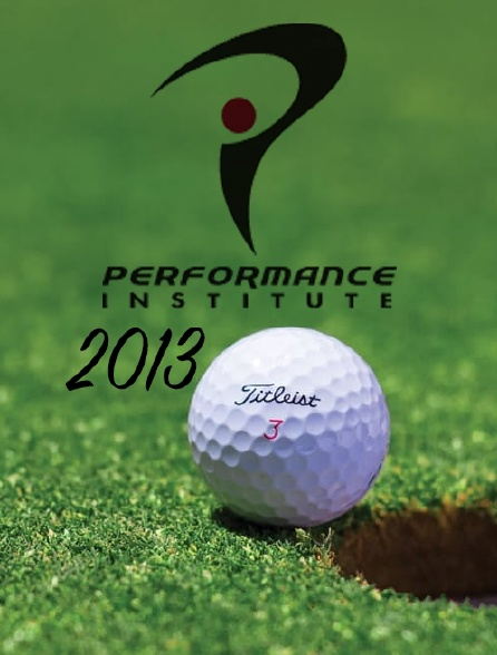 Performance Institute 2013