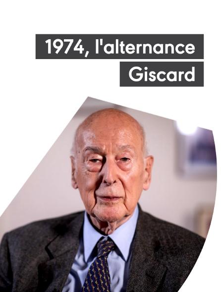 1974, l'alternance Giscard
