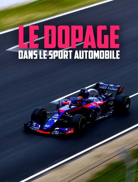 Le dopage dans le sport automobile