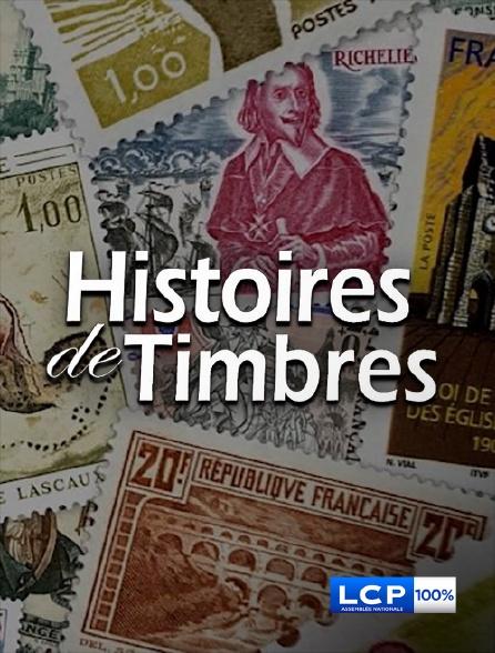 LCP 100% - Histoires de timbres