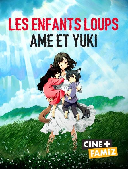Ciné+ Famiz - Les enfants loups, Ame et Yuki
