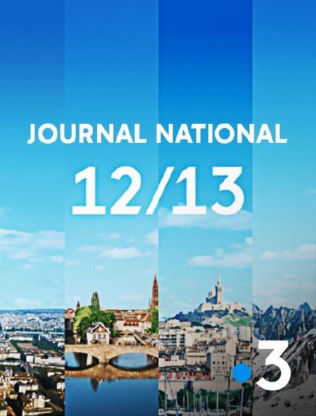France 3 - 12/13 : Journal national