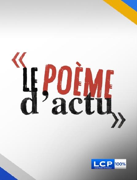 LCP 100% - Le poème d'actu