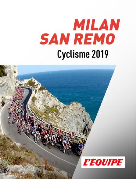 L'Equipe - Milan - San Remo 2019