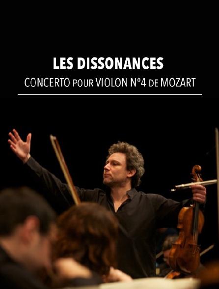 Les Dissonances : Concerto pour violon n°4 de Mozart