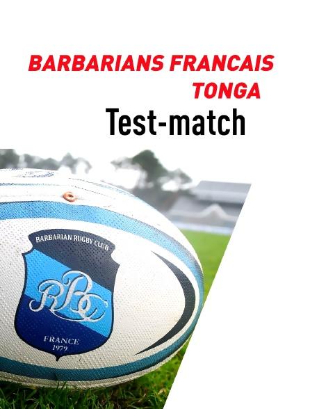 Rugby - Barbarians français (Fra) / Tonga