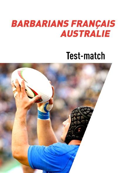 Rugby - Test-match : Barbarians français (Fra) / Australie