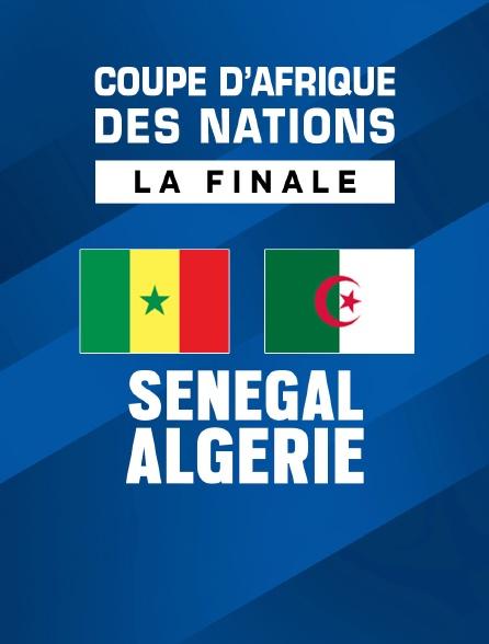 Coupe d'Afrique des Nations - La finale : Sénégal / Algérie