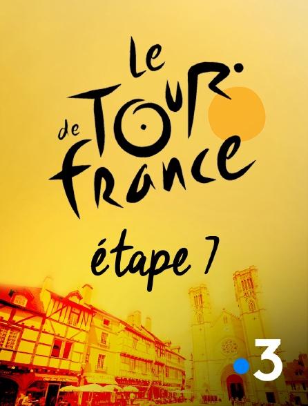 France 3 - Tour de France 2019 - Etape 7 : Belfort - Chalon-sur-Saône (230 km)