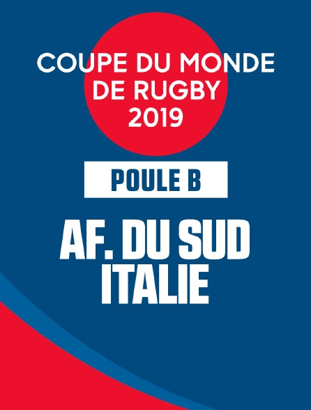 Coupe de monde de Rugby 2019 - Afrique du Sud / Italie