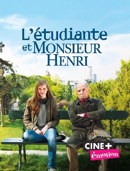 Ciné+ Emotion - L'étudiante et monsieur Henri