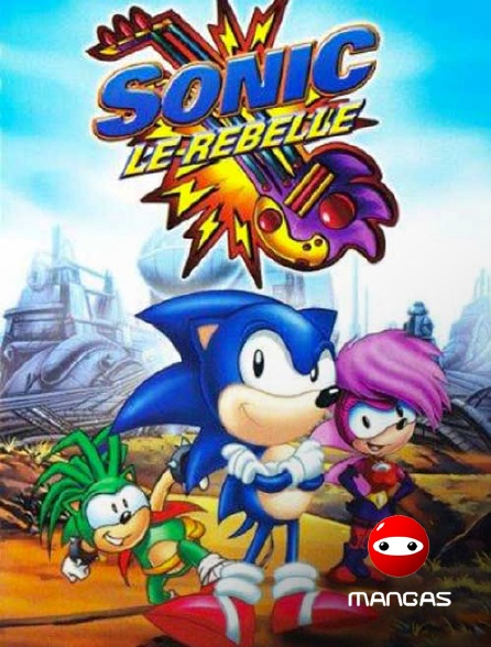 Mangas - Sonic le rebelle