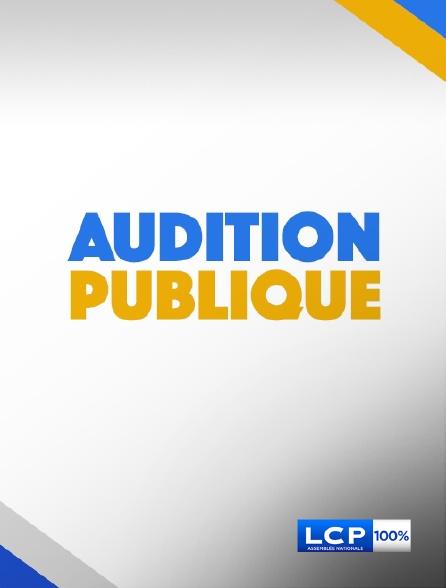 LCP 100% - Audition publique