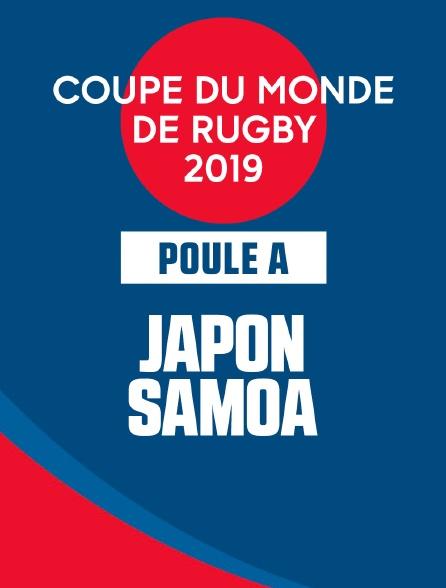 Coupe du Monde de Rugby 2019 - Japon / Samoa