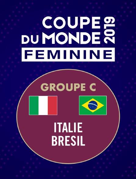 Football - Coupe du monde féminine : Italie / Brésil