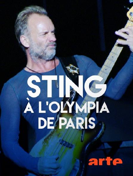 Arte - Sting à l'Olympia de Paris