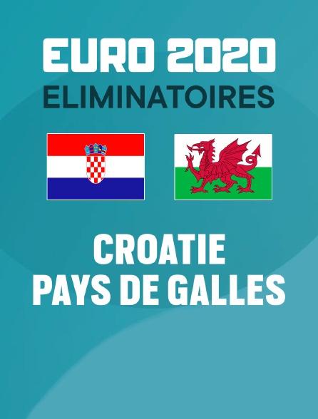 Football - Eliminatoires - Euro. 2020 : Croatie / Pays de Galles