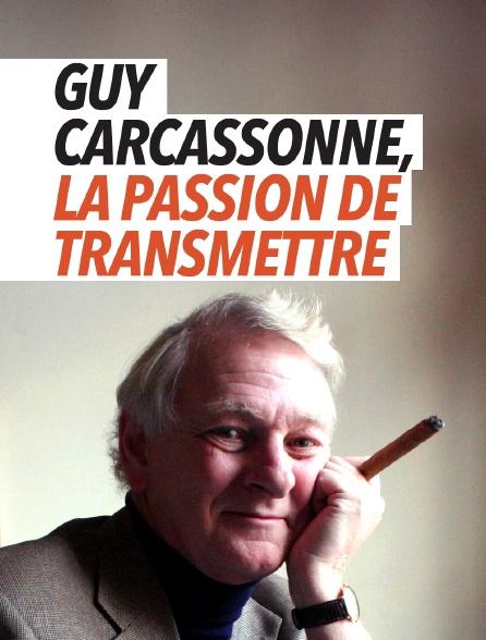 Guy Carcassonne, la passion de transmettre
