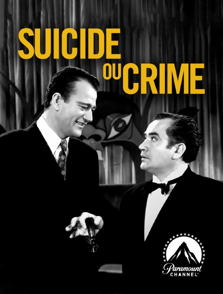 Paramount Channel - Suicide ou crime