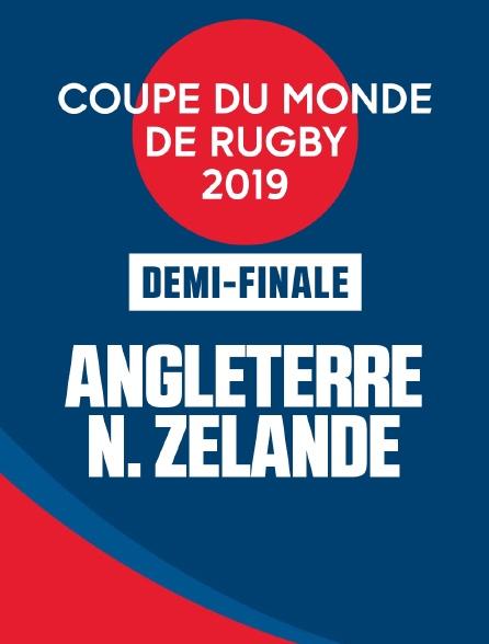 Coupe du monde de rugby 2019 - demi-finale - Angleterre / Nouvelle Zélande