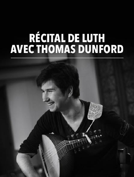 Récital de luth avec Thomas Dunford