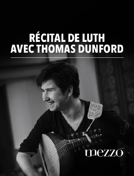 Mezzo - Récital de luth avec Thomas Dunford