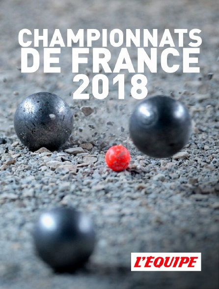 L'Equipe - Championnats de France 2018