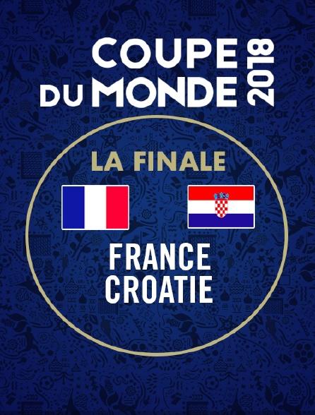 Coupe du monde 2018 - La Finale : France / Croatie