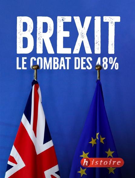 Histoire - Brexit, le combat des 48%