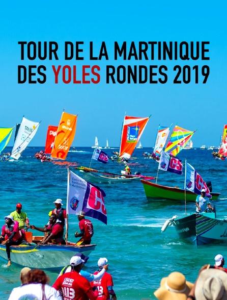 Tour de la Martinique des yoles rondes 2019
